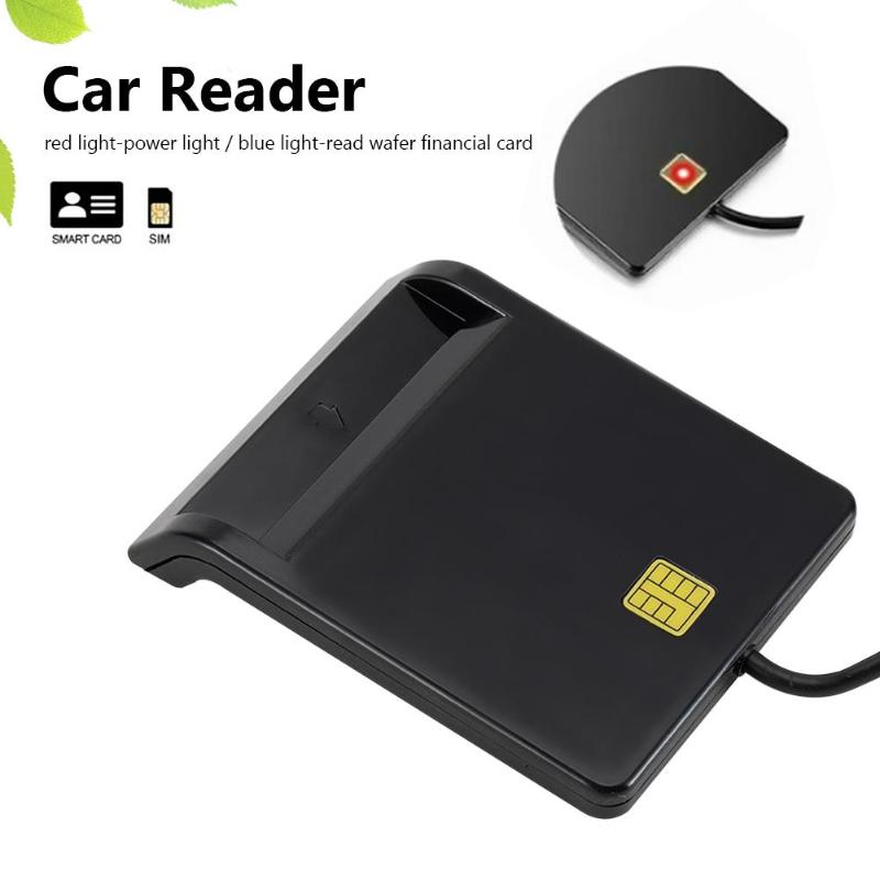 USB Smart Card Reader Stable Operation Reliable Simplicity For DNIE ATM CAC IC ID SIM Card Cloner Connector Windows