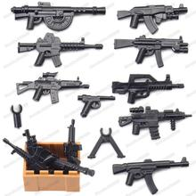 Military Type 95 Step Guns Soldier Weapons Building Block Army Equipment Figures Accessories WW2 Model Boy Gift Educational Toys ww2 japanese army type 98 soldier uniform sets jacket