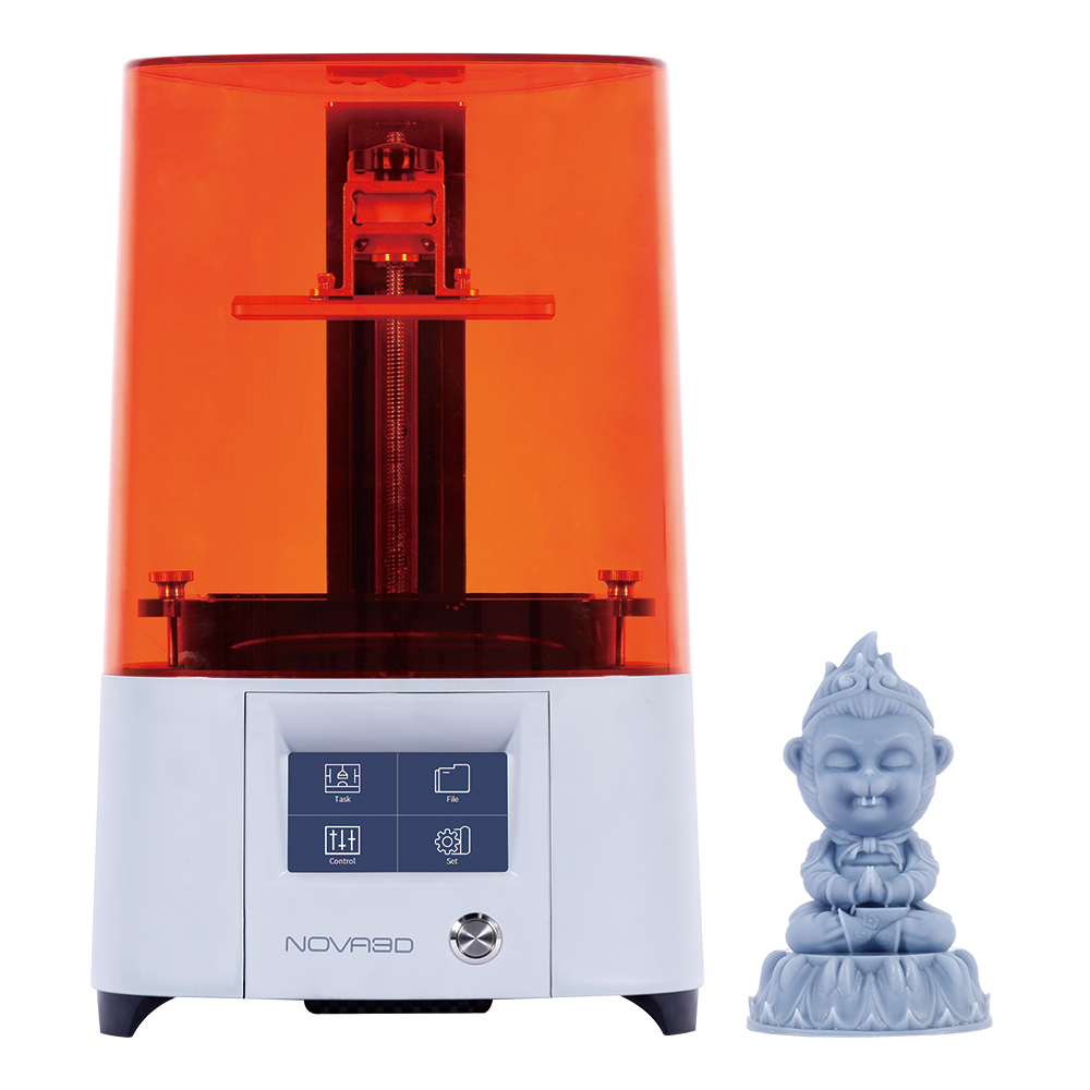 2020 New NOVA3D Elfin2 Photocuring 3D Printer Kit Free Levelling 405nm LCD 3D Printer DIY High Resolution Upgrade Light source image