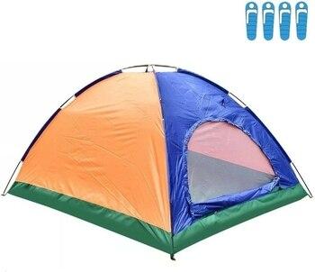 Tienda de Campaña para 4 Personas, Impermeable, acampada, Carpa, OFERTA