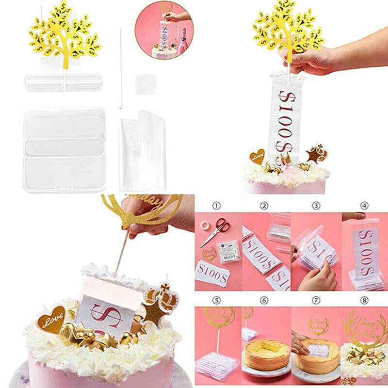 Groovy Cake Atm Surprise Birthday Cake Topper Money Box Funny Cake Happy Personalised Birthday Cards Paralily Jamesorg