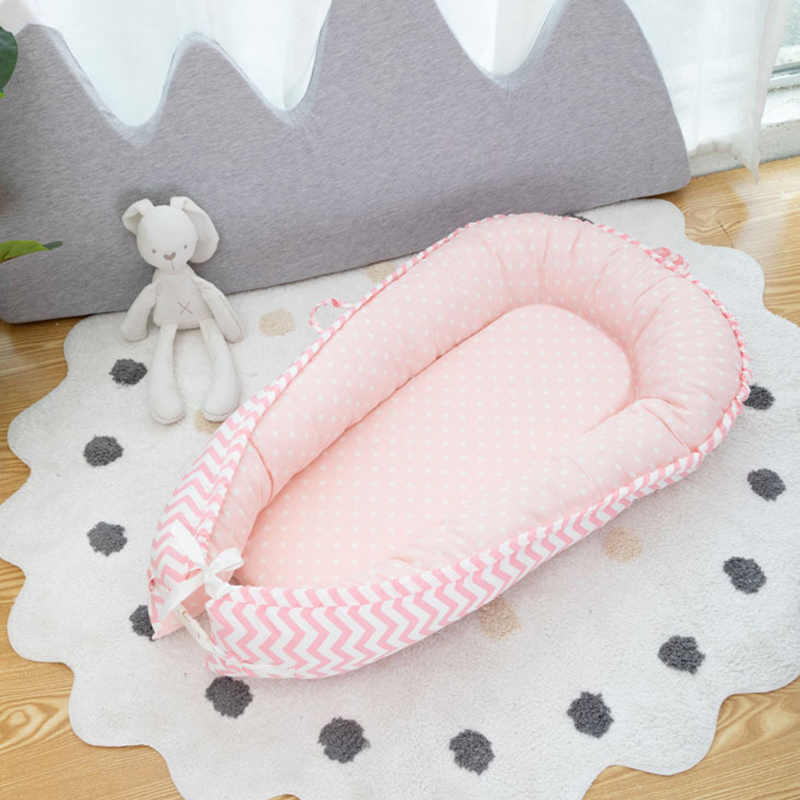 Baby Cot Travel Crib Sleeping Basket For Stroller Bed Cushion Infant Sleep Safety Protection Portable Crib YZL030