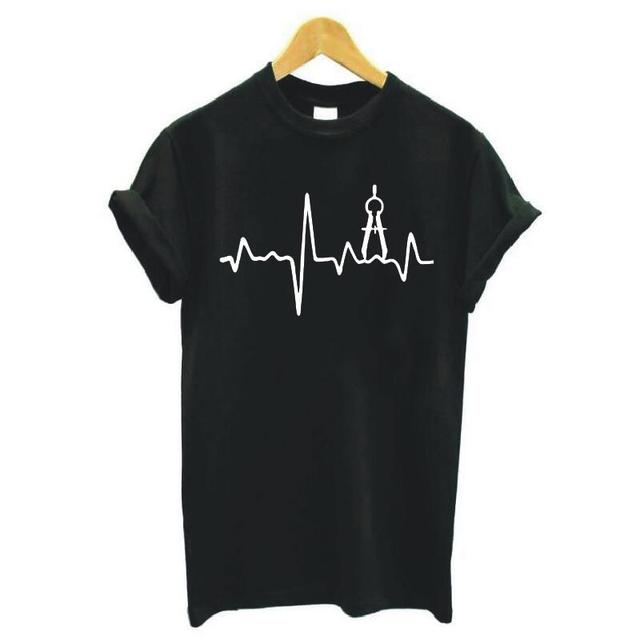 Architecture in a Heartbeat T-Shirt 3