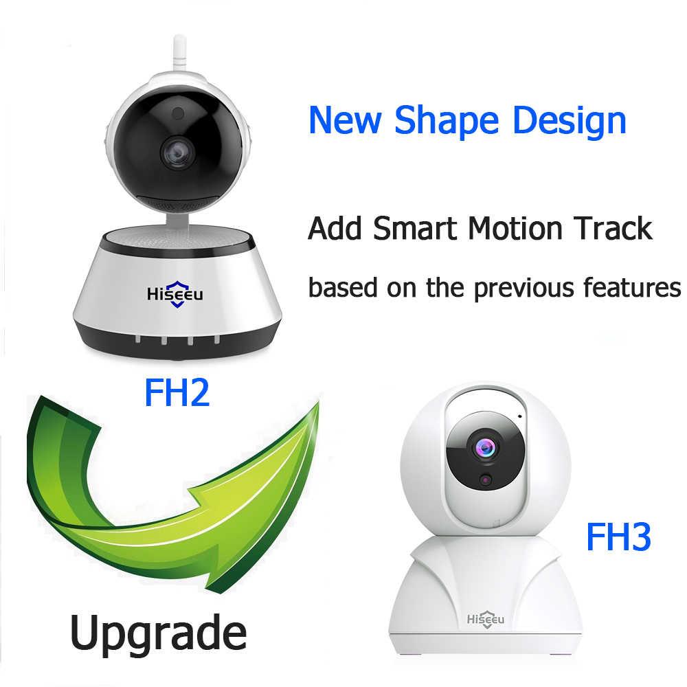 Hiseeu 720 P/1080 P caméra IP 2MP Wi-Fi réseau sans fil caméra de vidéosurveillance caméra de sécurité à domicile IP bébé moniteur P2P suivi de mouvement intelligent