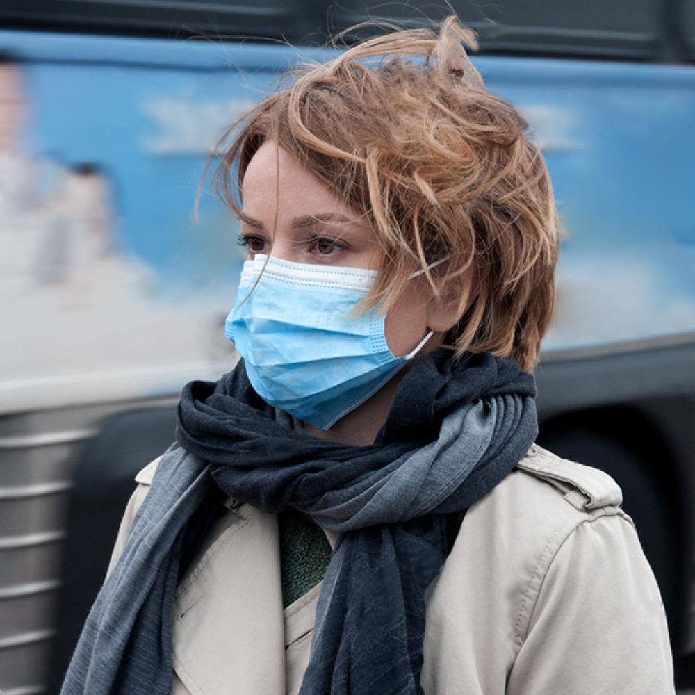 Mask Protective Cover Mask Dustproof Face Masks Disposable Masks 3 Layers Anti-fog Anti-virus