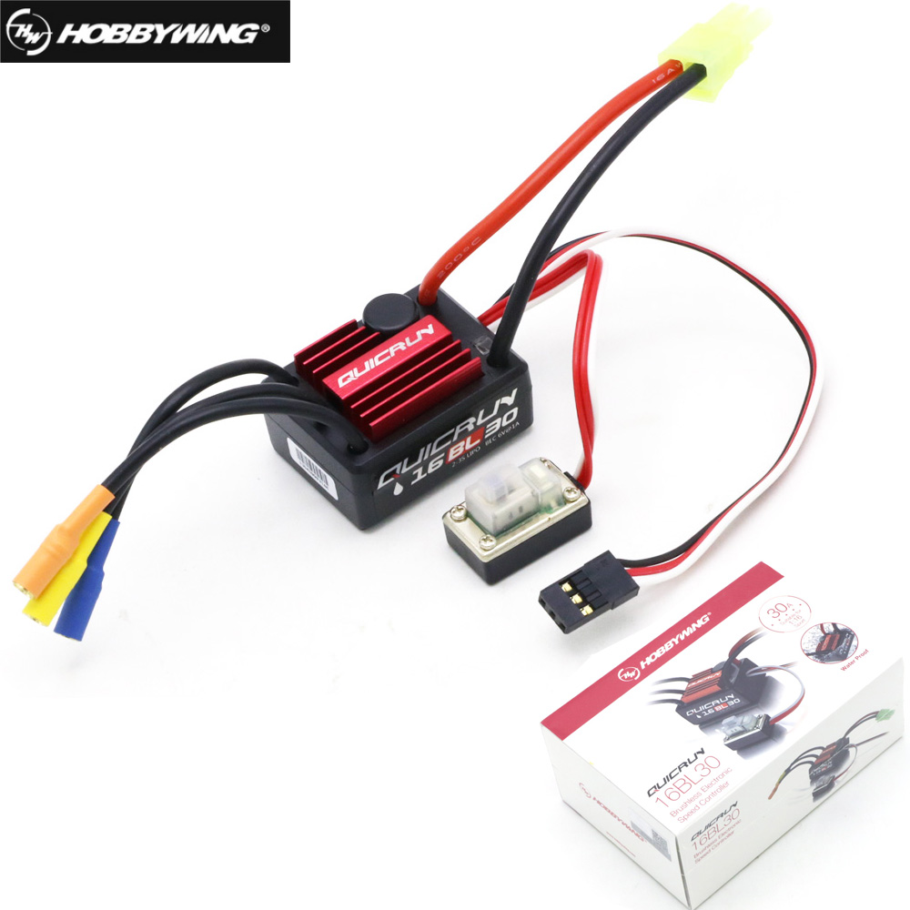 100% Original Hobbywing QuicRun 16BL30 30A Brushless ESC For 1/16 On-road / Off-road / Buggy /Monster RC Car