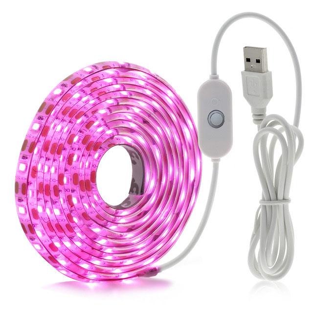 LED Grow Light Full Spectrum USB LED Strip 2835 60LED Phyto Lamps For indoor flower seed Hydroponic Plant Growing lamp
