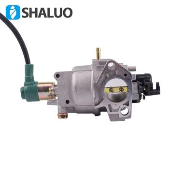Oryginalny auto GX390 188F 190F zestaw do przebudowy gaźnika benzynowego 5kw 6kw gaźnik do generatorów części akcesoria 5-8KW tanie i dobre opinie SHALUO 188F 190F