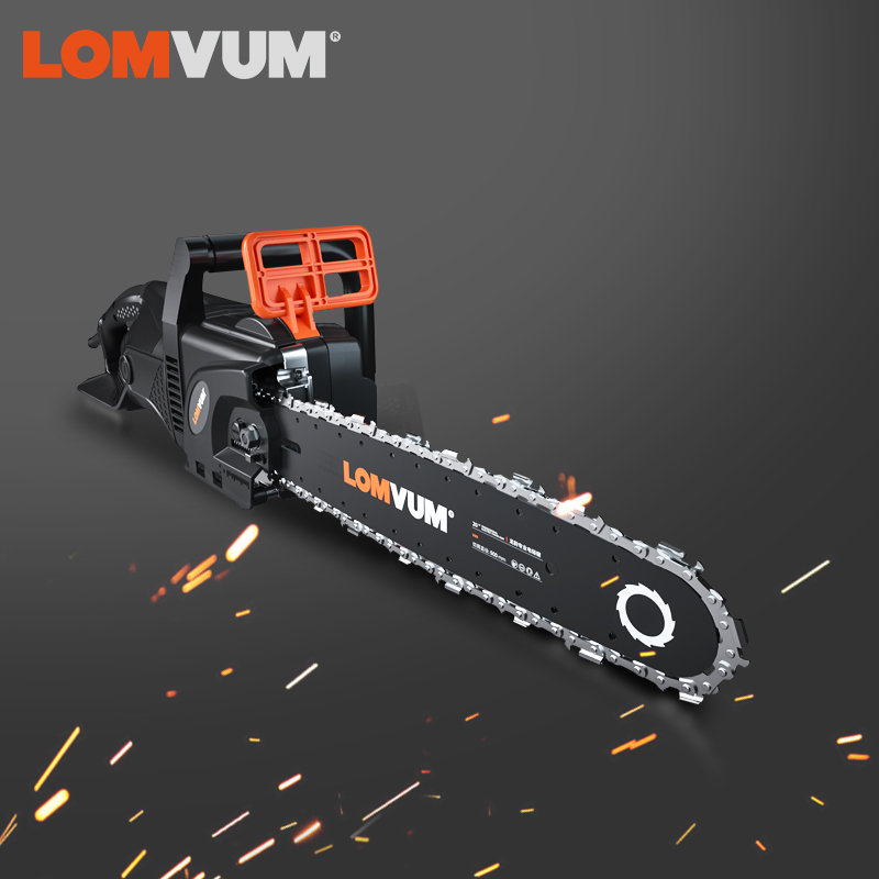 LOMVUM Chainsaws Electric  Chain Saw Cutting Wood Machine  Portable Garden Tools Electro Tool