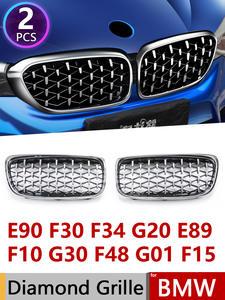 Grille Diamond F30 Racing 7-Series Z4 E89 F10 G30 E71 E70 Bmw E90 for G11x1/F48x3/G01x5/..
