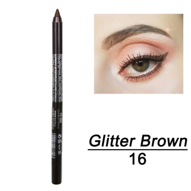 1 шт. стойкий карандаш для глаз водостойкий 14 цветов карандаш для глаз карандаш для век косметические инструменты для макияжа оптом TSLM2 - Цвет: 10