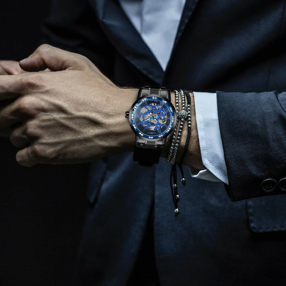 Hf138fc85b8df4d568db5d868ed4ae09fR WINNER Fashion Business Mechanical Mens Watches Top Brand Luxury Skeleton Dial Crystal Iced Out Wristwatch Hot Sale Clock 2019