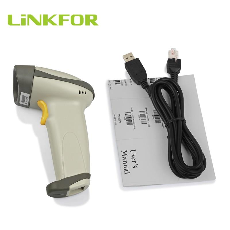 Linkfor 스탠드가있는 레이저 바코드 스캐너 usb long scan 핸드 헬드 연속 pos 스캐너-에서스캐너부터 컴퓨터 및 사무용품 의