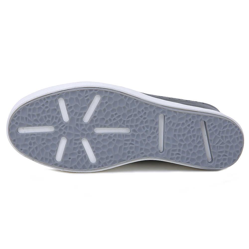 Lente zomer nieuwe stijl natuurlijke lederen slippers vrouwen tall slippers sandalen ademende vrouwen schoenen maat 34-40