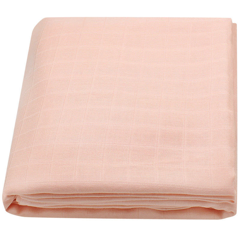 120x120cm Bamboo Cotton Soft Baby Swaddle Baby Muslin Wrap Infant Baby Bedding Sheet
