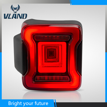 Tunnel Dynamic Style Rear Lamp for Jeep Wrangler Tail Lights 2018 2019 2020 Full LED Tail Lamp with Moving Signal