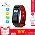 Kaimorui T02 Smart Horloge Band Fitness Tracker Mannen Vrouwen Hartslag ECG IP68 Waterdichte Sport Fitness Armband Voor Android IOS