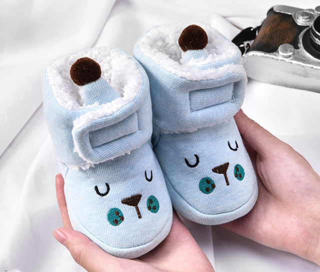 Baby Booties Winter Warm Newborn Boys