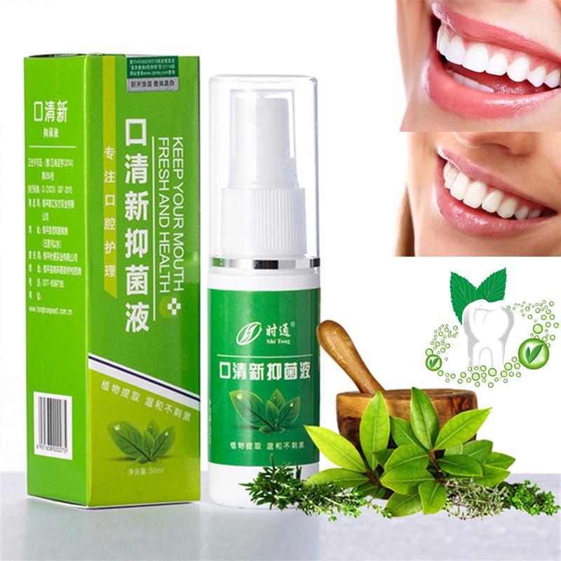 2020 Hot Wholesale 30g Breath Freshener Mouth Spray Oral Odor Treatment Spray Refresher Fresh Breath Remove Bad Breath Smoke