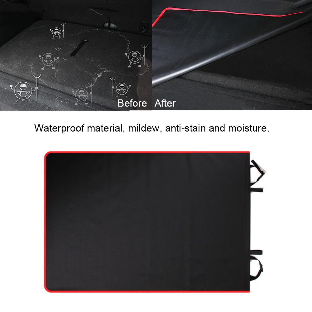 cheapest Universal Car Trunk Mat Waterproof Oxford Cloth Mat Dog Cat Back Seat Covers Rear Auto Pad Car Protection Blanket Seat Cover