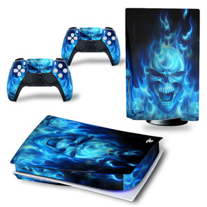 Image 2 - Angry Skull PS5 Standard Disc Edition Skin Sticker Decal Cover for PlayStation 5 Console & Controller PS5 Skin Sticker Vinyl