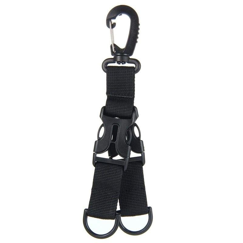 Spor ve Eğlence'ten Tırmanma Aksesuarları'de Naylon şerit sırt çantası asılı toka çok fonksiyonlu karabina title=