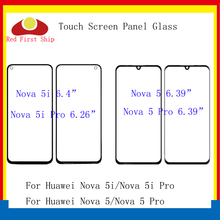 10Pcs/lot Touch Screen For Huawei Nova 5 5i Pro Panel Front Outer Glass Lens Touchscreen NO LCD