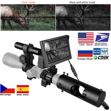 Night Vision Riflescope Hunting Scopes Optics Sight Tactical 850nm Infrared LED IR Waterproof Device Camera