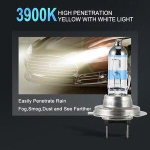 Image 5 - 2x 100W H1 H7 H8 H11 9005 HB3 9006 HB4 HeadLight HOD Xtreme Lamp 4300K Xenon White Blue Glass Replacement Car Halogen Light Bulb
