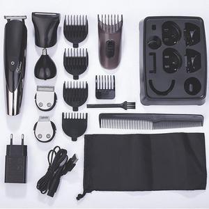 Image 5 - Multifunções barbeador elétrico facial para homens molhado seco máquina de barbear corpo barbeador cabelo recarregável elétrica navalha barba grooming