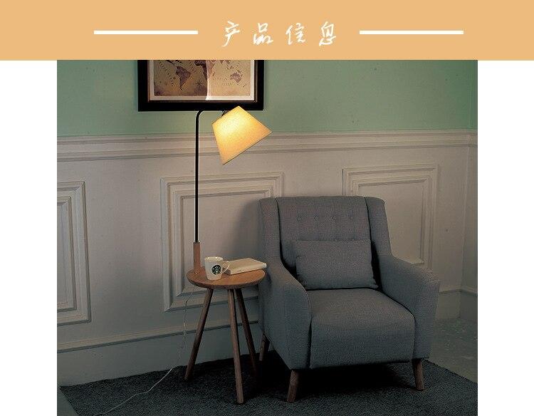 quarto vertical candeeiro mesa decoração do quarto pé luz móveis
