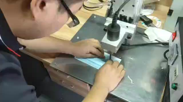 Ultrasonic Spot Welding Machine With High Sales Volume for Disposable Mask Ear Band 1