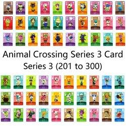 Животное пересечение карты Amiibo замки nfc карты работы для NS игр серии 3 (201 до 300)