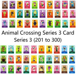 Animal Crossing Carta Amiibo serrature nfc Carta di Lavoro per NS Giochi Serie 3 (201-300)