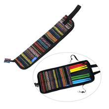 Special National Style Drum Stick Drumsticks Mallet Bag Case Cotton Material With Hanging Hooks