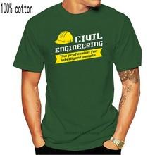 Engenharia civil masculina-a profissão para pessoas inteligentes camiseta aniversário