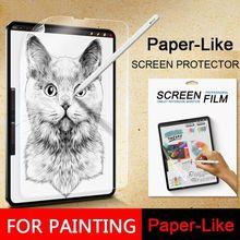 Бумажная защитная пленка, матовая, ПЭТ, с антибликовым покрытием, для microsoft Surface Pro 3 4 5 6 Go Book 1 2 13,5 15 дюймов