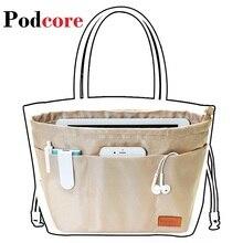 Purse Insert Organizer Makeup Bag Organizer Insert Women Cosmetic bags Travel Organizer