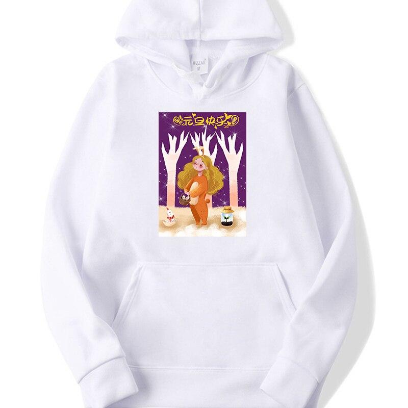 2019 Hot Sale Hoodies Women'S Cute Christmas Girl Hoodie Casual Sweatshirt Long Sleeve thick Warm Tops - 6