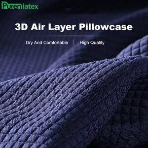 Image 5 - Purenlatex Bamboo Charcoal Memory Foam Orthopedic Pillow Office Chair Cushion Car Seat Adult Student Hemorrhoid Vertebra Treat