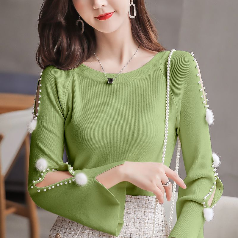 Women Sweater Spring 2020 Korean Winter New Pullover Sweater Blouse Tops 7 Color Cusaul Sweaters Ladies Women Sueter Mujer 10H