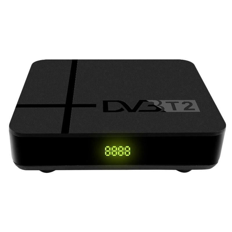 Fully HD 1080P Digital DVB-T2 K2 MAX Terrestrial TV Tuner H.265/HEVC Built-In RJ45 LAN Support AC3 IPTV DVB T2 Set Top Box EU Pl
