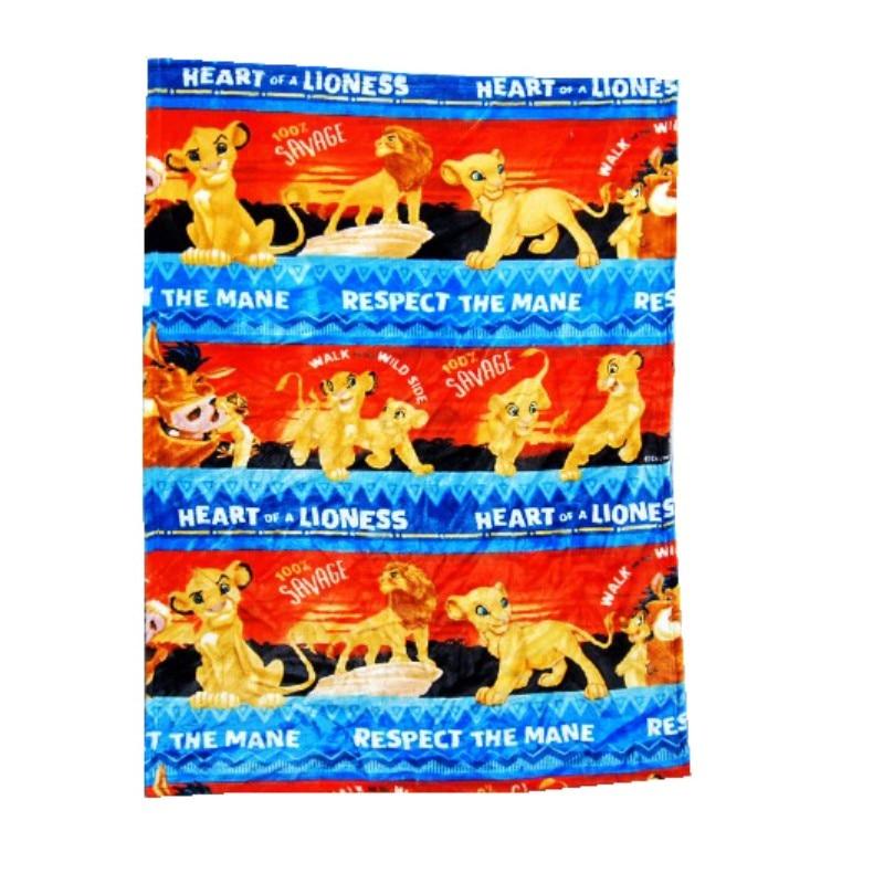 Couvertures en flanelle 70x100cm | Dessin animé Lion roi, Simba Winnie, cadeau d'anniversaire bébé, lange d'emmaillotage, Mini couverture pour les enfants, animal de compagnie