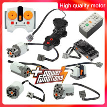 Technic Onderdelen Motor Multi Power Functies Tool Servo Blokken Trein 8293 8883 Motor Pf Model Sets Building Compatibel Alle Merken(China)