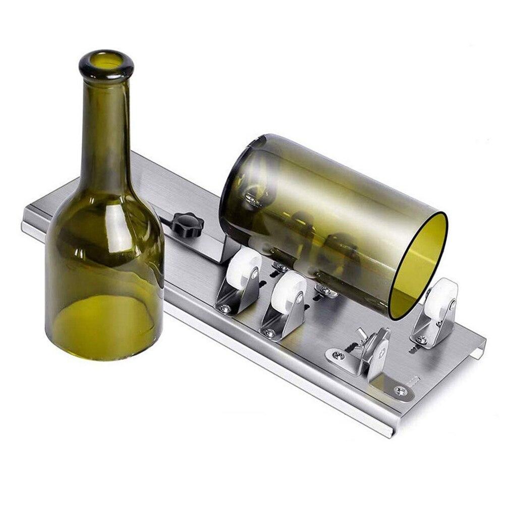 Glass Bottle Cutter Thickness Cut 2mm-10mm Aluminum Alloy Best Cutting Control Create Glass Sculptures Glass Cutter