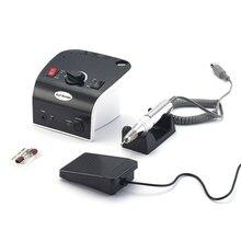 Машинка для маникюра 35W 35000 об/мин Электрическая маникюрная машина для ногтей набор пилок аппарат для маникюра электрическая пилка маникюрная пилка фрезы для маникюра