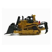 Caterpillar D10t2 цельнометаллический модели бульдозера Cat подарочная упаковка 1: 50 Модель сплав гусеничный Инженерная машина