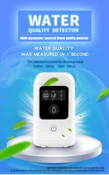 Portable Intelligent Water filter Quality Detection Of Outdoor Sports Maternal And Child Drinking Health TOC COD TDS