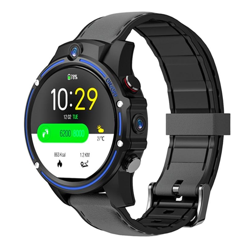 Kospet Vision 3G + 32G 8.0MP Cámara Dual frontal 4G LTE videollamada 800mAh Google Play cámara de búsqueda de voz Smart Watch teléfono