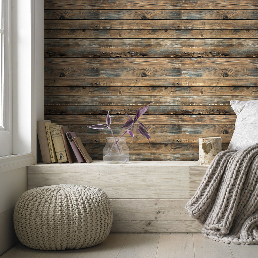 Best Deal 0b5d Retro Faux Wood Grain Peel And Stick Wallpaper Self Adhesive Wood Plank Wallpaper Removable Vinyl Wall Covering Library Bedroom Cicig Co